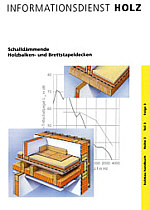 schallschutz holzbalkendecke informationsdienstholz h user immobilien bau. Black Bedroom Furniture Sets. Home Design Ideas